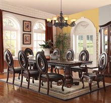 Picture of Abbeville Cherry Finish 9 Piece Set