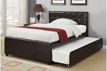 Picture of Espresso Twin Bed With Trundle
