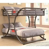 Picture of Bunks Full-over-Full Contemporary Bunk Bed