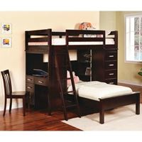 Picture of Bunks Workstation Twin Bunk Bed